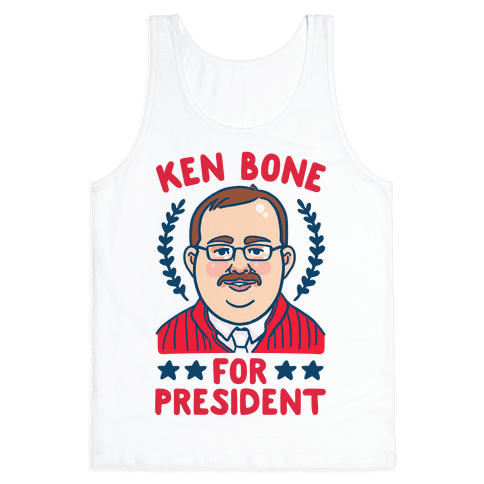 Ken Bone For President Tank Top