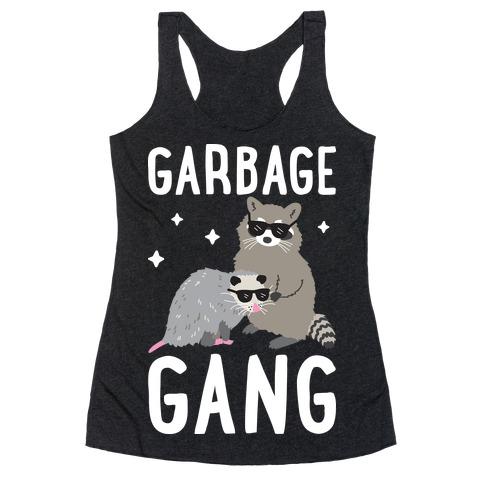 Garbage Gang Racerback Tank Top