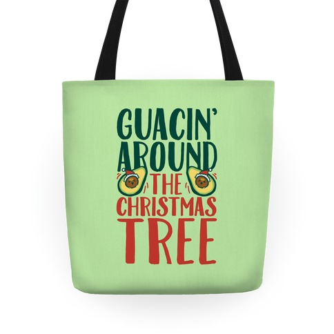 Guacin' Around The Christmas Tree Tote