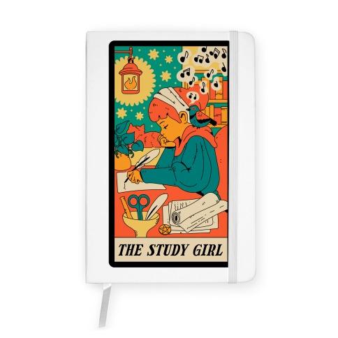 The Study Girl Tarot Card Notebook