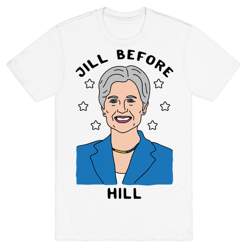 Jill Before Hill Mens T-Shirt
