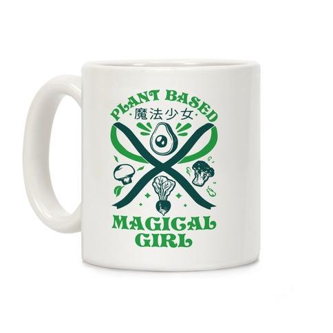 Plant Based Magical Girl Coffee Mug