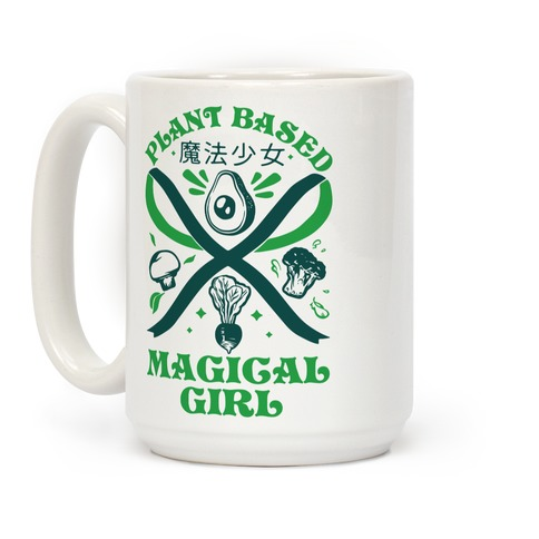 Plant Based Magical Girl Coffee Mug