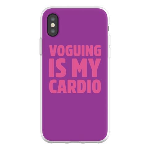 Voguing Is My Cardio Parody Phone Flexi-Case