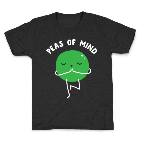 Peas Of Mind Kids T-Shirt