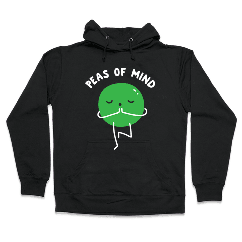 Peas Of Mind Hooded Sweatshirt