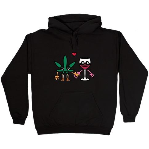 Weed-n-Wine Hooded Sweatshirt
