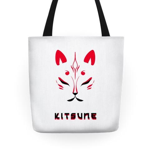 Kitsune Face Tote