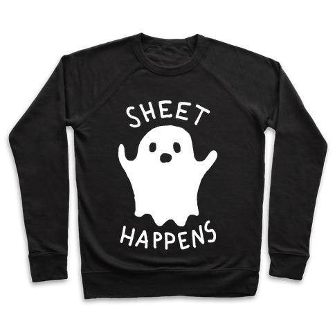 Sheet Happens Ghost Pullover