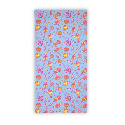 Sailor Moon Weapons Towel Beach Towel
