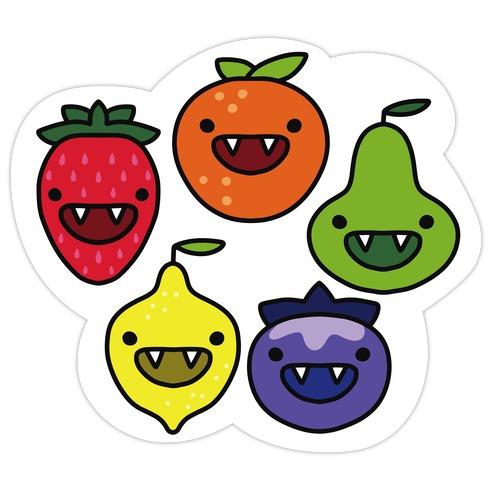 Feeling Berry Scary Die Cut Sticker