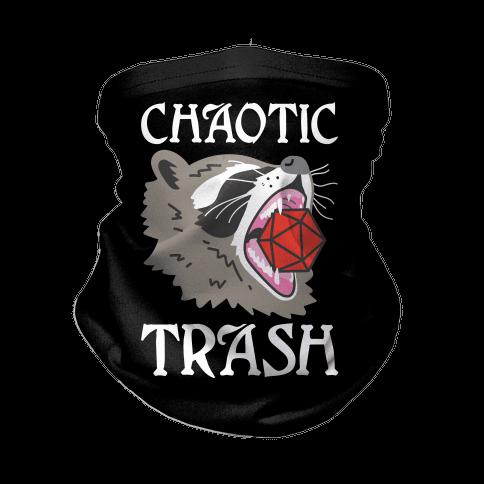 Chaotic Trash (Raccoon) Neck Gaiter