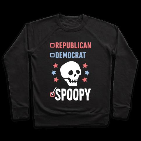 Republican Democrat SPOOPY (White) Pullover