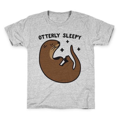 Otterly Sleepy Kids T-Shirt