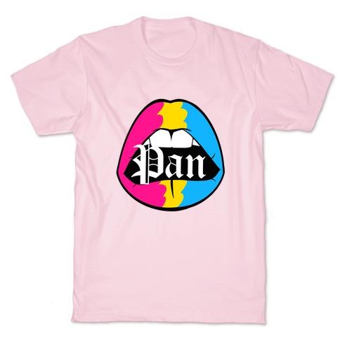 Pan Pride Lips T-Shirt