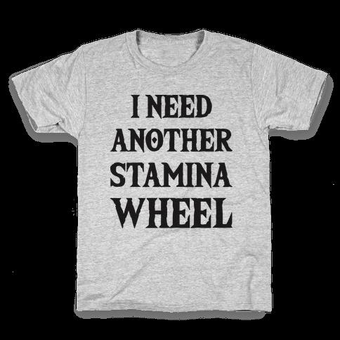 I Need Another Stamina Wheel Zelda Parody Kids T-Shirt