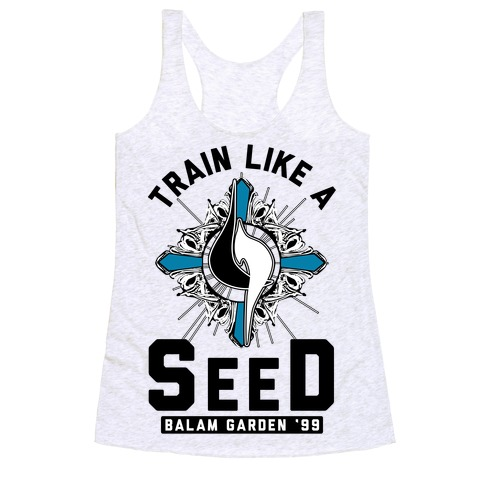 Train Like a SeeD Balamb Racerback Tank Top
