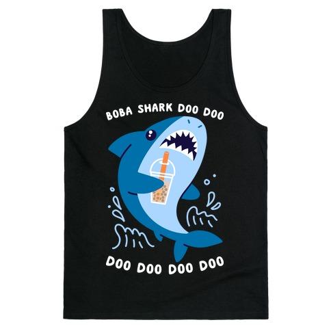 Boba Shark Tank Top