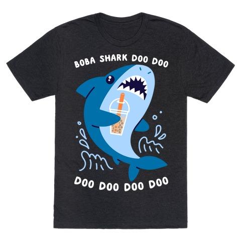 Boba Shark T-Shirt