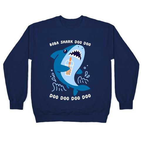 Boba Shark Pullover