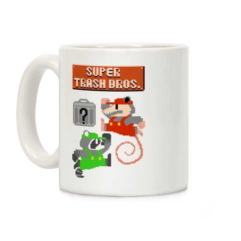 Super Trash Bros Coffee Mug