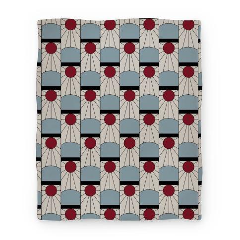 Tanjiro Earrings Pattern Blanket