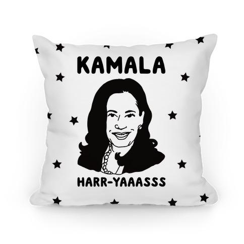 Kamala Harr-Yaaasss Pillow