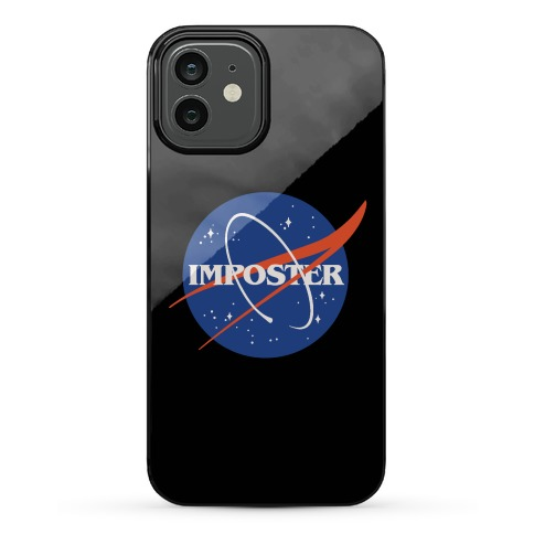 Imposter Nasa Logo Parody Phone Case