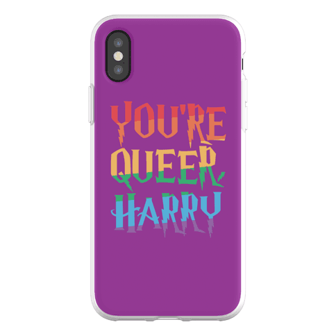 You're Queer Harry Parody Phone Flexi-Case