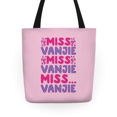 Miss Vanjie Parody Tote