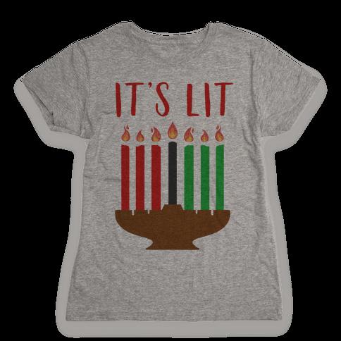 It's Lit Kinara Womens T-Shirt