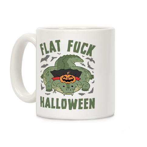 Flat F*** Halloween Coffee Mug
