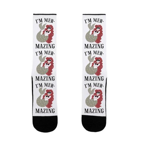 I'm Mer-Mazing Sock