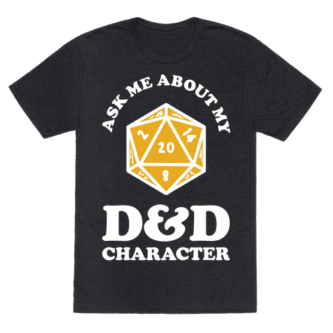 Ask Me About My D&D Character