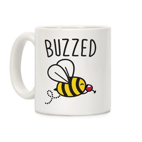 Buzzed Wine Bee Coffee Mug