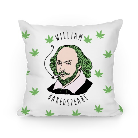 William Bakedspeare  Pillow
