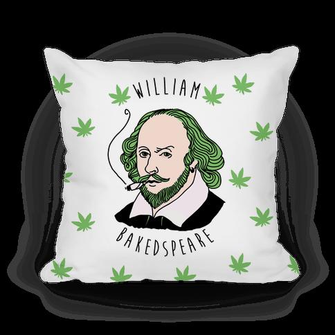 William Bakedspeare  Pillow