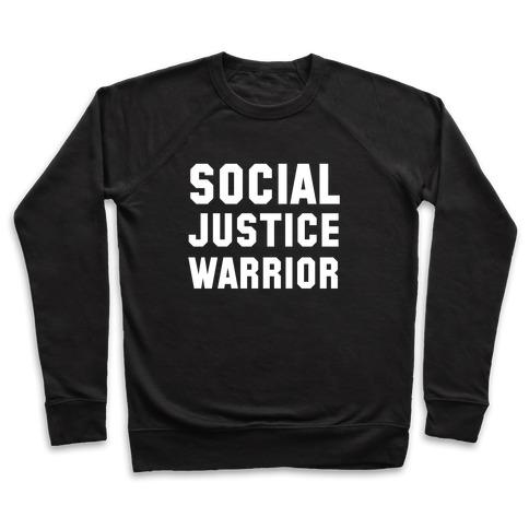 Social Justice Warrior Pullover