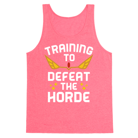 Training to Defeat the Horde Tank Top