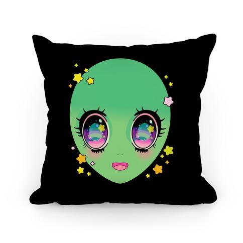 Anime Eyes Alien Pillow