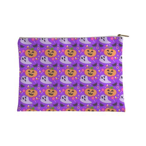 Halloween Fun Pattern Accessory Bag