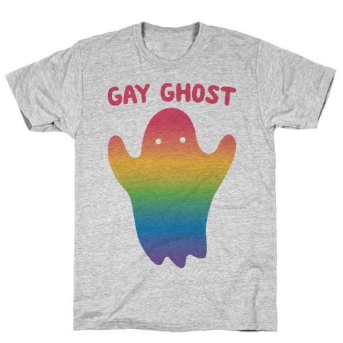 Gay Ghost Mens T-Shirt