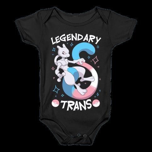 Legendary Trans Baby Onesy