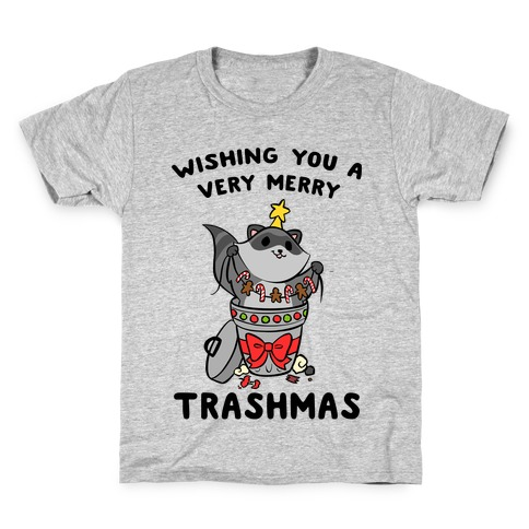 Wishing You A Very Merry Trashmas Kids T-Shirt