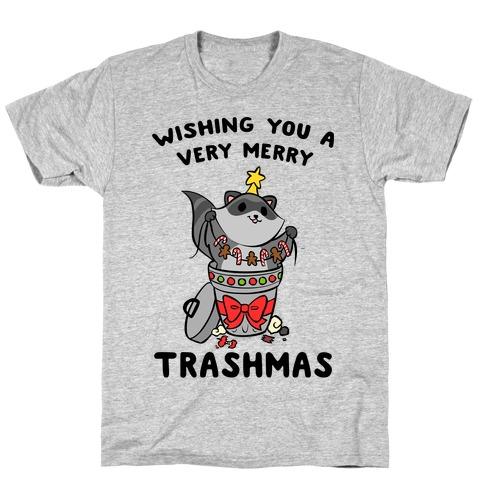Wishing You A Very Merry Trashmas T-Shirt