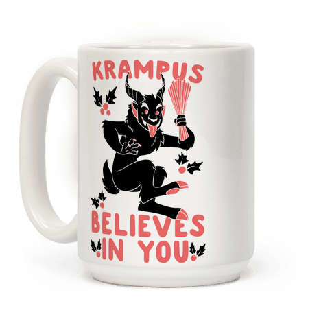 Krampus Believes in You Coffee Mug