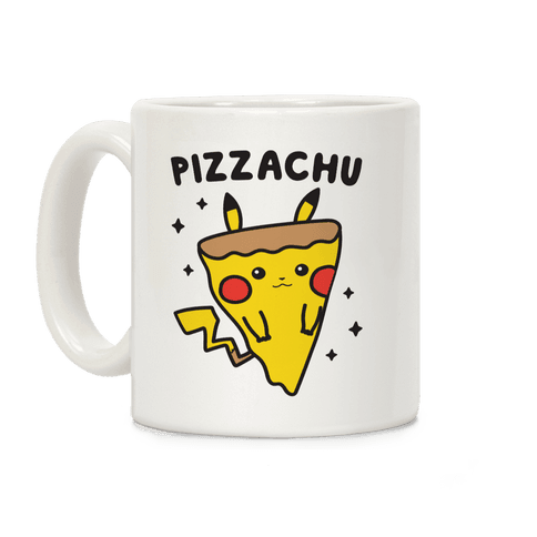 Pizzachu Parody Coffee Mug