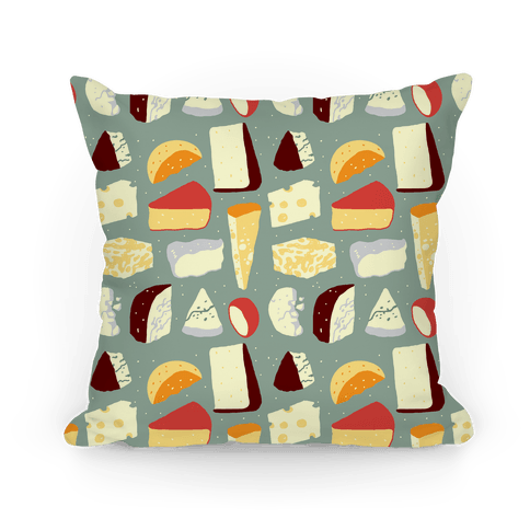 Cheese Pattern Pillow