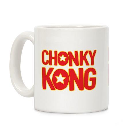 Chonky Kong Parody Coffee Mug