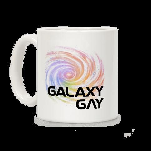 Galaxy Gay Coffee Mug